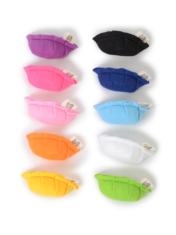 全10色!(左手前から、イエロー・オレンジ・パステルピンク・ショッキングピンク・パープル・グリーン・ホワイト・パステルブルー・ネイビーブルー・ブラック