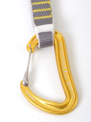 ロープ側は超軽量キーロックワイヤーゲートのDyon(ダイオン)