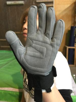 手の全長18cm/S着用 *ジャスト
