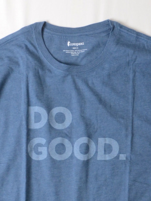 DO GOOD.(良いことしよう)