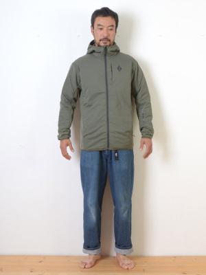 身長178cm/66kg/M着用